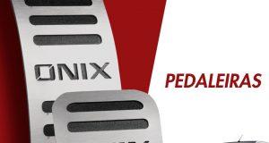 GPI destaca pedaleira para Chevrolet Onix