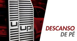 GPI Automotivo destaca descanso de pé para o Volkswagen up!
