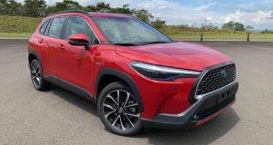 Toyota vendeu 1 mil unidades do Corolla Cross em abril