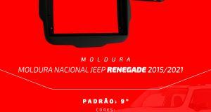 Fiamon destaca moldura para o Jeep Renegade