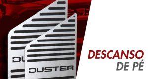 GPI Automotive destaca descanso de pé para o Renault Duster