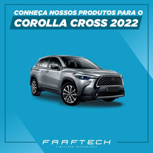 Faaftech destaca seis produtos para upgrade do Toyota Corolla Cross