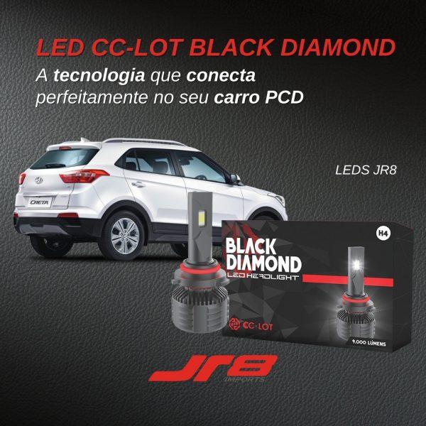 JR8 Imports destaca o LED CC-LOT Black Diamond