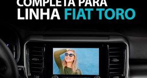 Faaftech destaca Interface de Vídeo para o novo Fiat Toro 2022