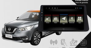 JR8 Imports destaca central multimídia Slim para Nissan Kicks