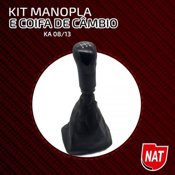 Nat Indústria destaca Kit manopla e coifa de câmbio para Ford Ka