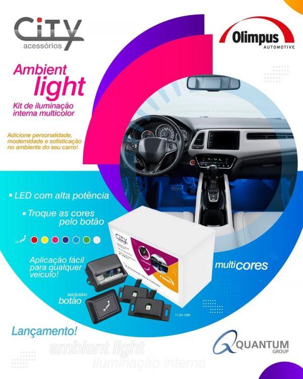 Quantum Group lança Kit de iluminação interna Ambient Light