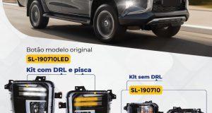 Shocklight lança kit de farol auxiliar para Mitsubishi L200 Triton 2021