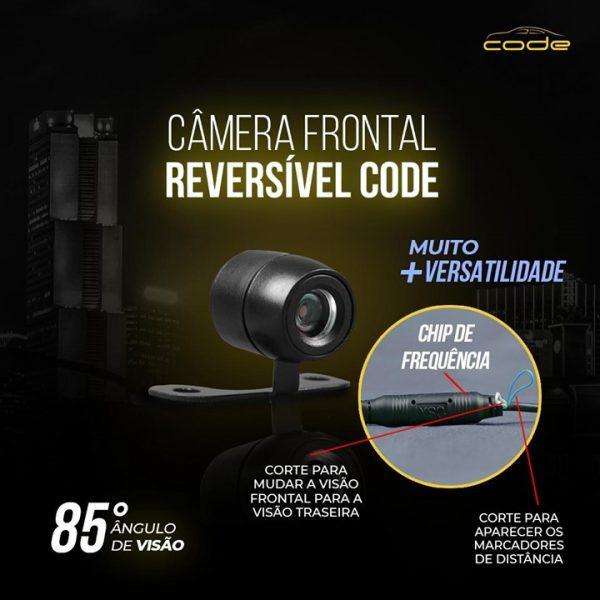 Tech One destaca câmera Frontal Reversível da linha Code
