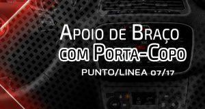 Nat Indústria destaca apoio de braço com porta-copo para Fiat Punto e Linea