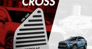 GPI Automotive lança descanso de pé para o Toyota Corolla Cross