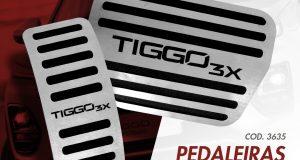 GPI Automotive lança pedaleiras para o Caoa Chery Tiggo 3X