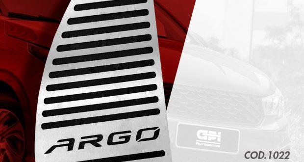 GPI Automotive destaca descanso de pé para o Fiat Argo