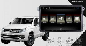 JR8 Imports destaca central multimídia para Volkswagen Amarok
