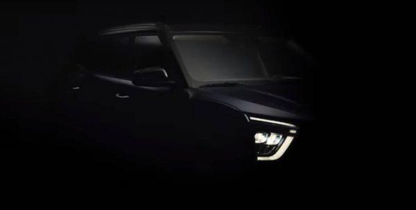 Hyundai divulga novo teaser do Creta 2022