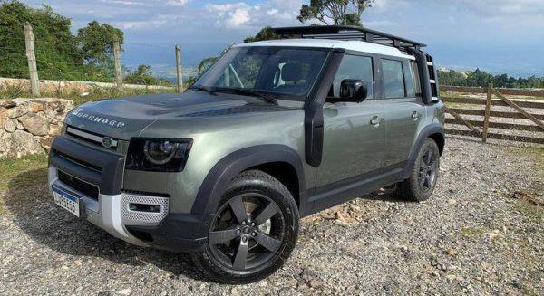 Land Rover Defender 2022 será oferecida a partir de R$ 543 mil