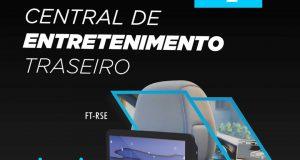 Faaftech lança central de entretenimento traseiro para o novo Volkswagen Taos