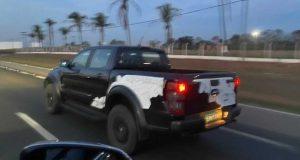 Ford Ranger Raptor é vista rodando pelo interior de São Paulo