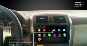 Kronos destaca central multimídia para Toyota Corolla 2009