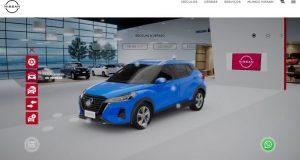 Nissan terá tecnologia realidade aumentada em Showroom virtual