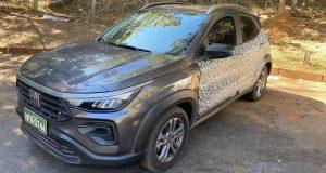 Fiat Pulse é visto sem camuflagem em Minas Gerais