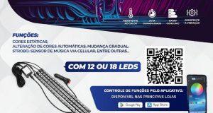 Shocklight lança Kit LED Atmosfera RGB