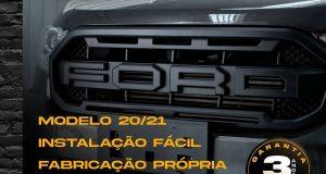 C&k Acessório destaca grade frontal para Ford Ranger Raptor
