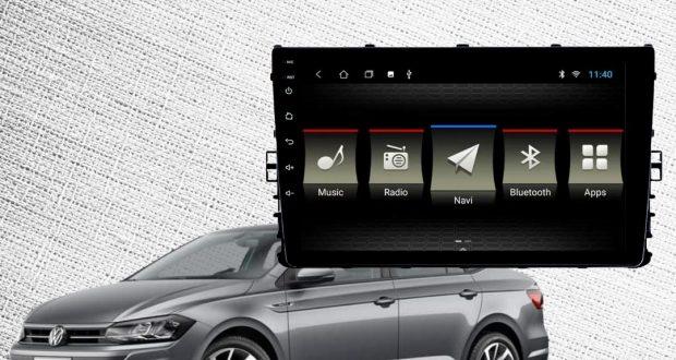 JR8 Imports destaca central multimídia Slim para Volkswagen Virtus