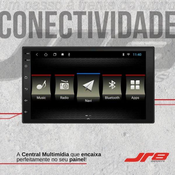 JR8 Imports destaca central multimídia universal Black Diamond