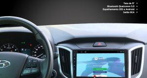 Kronos destaca central multimídia Slim para Hyundai Creta