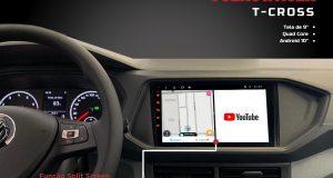 Kronos destaca central multimídia para Volkswagen T-Cross