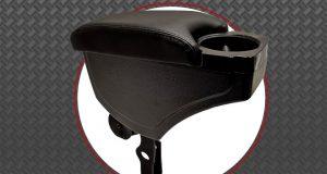 Nat Indústria destaca apoio de braço com porta copo para VW Fox, CrossFox e SpaceFox