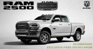 """Série especial Ram 2500 """"Quarto de Milha"""" terá apenas 52 unidades no Brasil"""