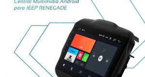 Faaftech destaca central multimídia Android para Jeep Renegade