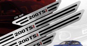 GPI destaca a Linha especial Turbo TSI de soleiras para Volkswagen T-Cross TSI
