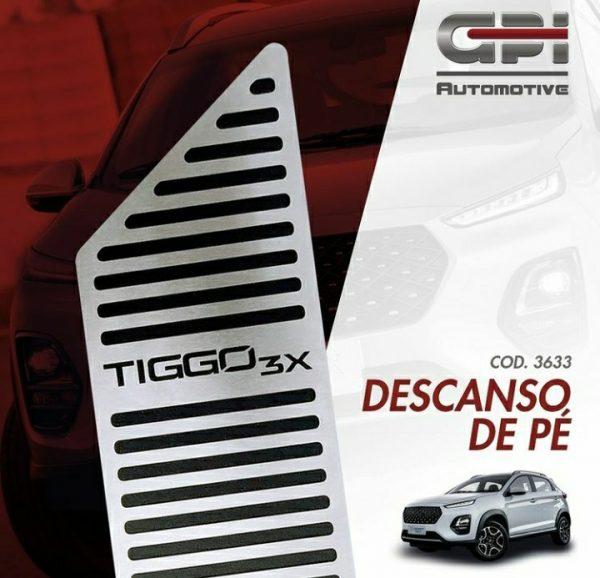 GPI Automotive destaca descanso de pé para o Caoa Chery Tiggo 3X