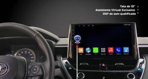 Kronos destaca central multimídia Octa Core para Toyota Corolla Cross