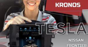 Kronos destaca central multimídia Tesla para Nissan Frontier