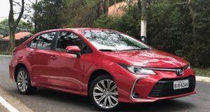 Toyota reajusta preços do Corolla que agora parte de R$ 129 mil