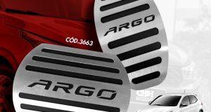 GPI Automotive destaca pedaleiras em aço inox para o Fiat Argo
