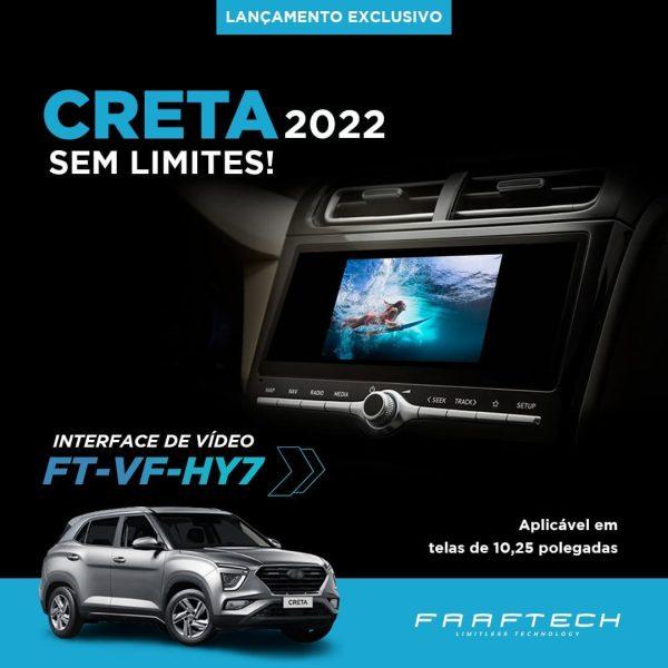 Faaftech destaca interface de vídeo FT-VF-HY7 para o novo Hyundai Creta