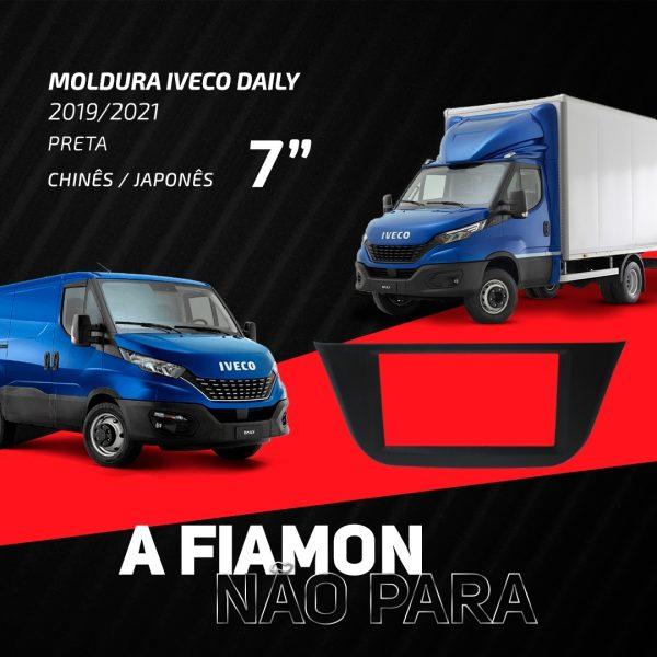Fiamon destaca moldura de 7 polegadas para Iveco Daily