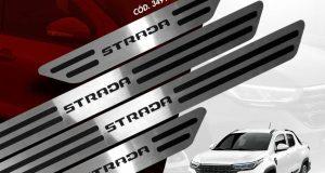 GPI lança soleiras da linha Aço Inox para nova Fiat Strada