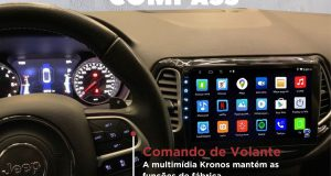 "Kronos destaca central multimídia 10"" para o Jeep Compass"