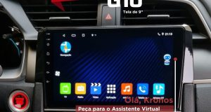 Kronos destaca central multimídia para Honda Civic G10