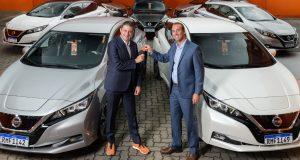 Nissan e Movida aumentam frota de veículos elétricos