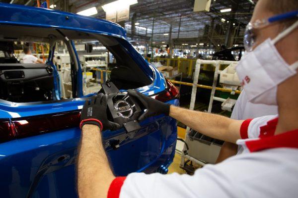 Nissan terá novo turno na linha de produção no Rio de Janeiro a partir de fevereiro de 2022