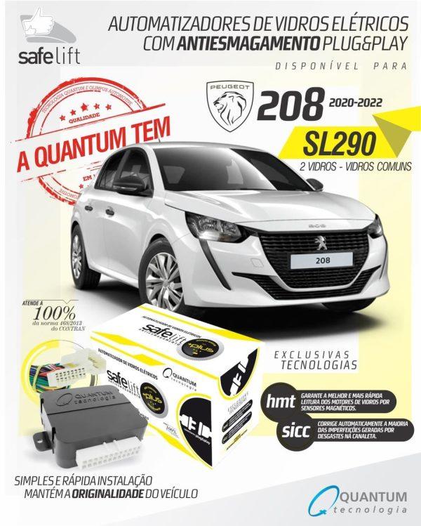 Quantum Group destaca Safelift para Peugeot 208