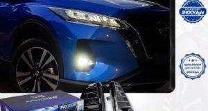 Shocklight destaca Kit de farol auxiliar para Nissan Kicks 2021