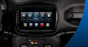 Ultron Solutions destaca central multimídia Smartblue para o Jeep Renegade